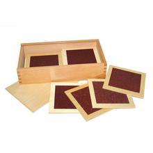 Brown Montessori Touching Board