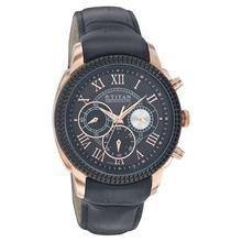 Titan 1489KL01 Black Dial Analog, Chronograph Watch For Men Black