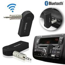 Car Bluetooth Aux Transmitter Stereo Music Receiver-Black