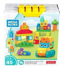 Mega Bloks First Builders - 123 Bus Building