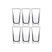 Pasabahce Carre Long Drink (290 ml)-6 Pcs