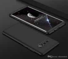 Gkk 360 black case for samsung note8