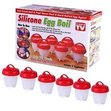 Silicone Egg Steamer Eggies Boil Egg Cooker Hard-Boiled Eggs