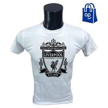 Liverpool Logo Printed T-Shirts for Men