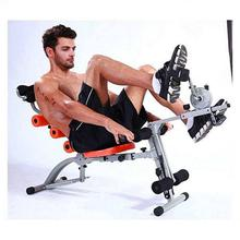Black 6 Pack Care Exercise Machine With Paddle (Cycle)