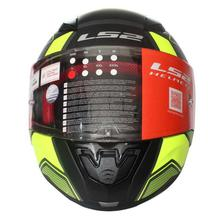LS2  Rapid Matte Full Helmet - Black/Neon