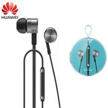 Huawei Am13 Honor Engine 2 Earphone Original Metal Wire Dynamic Stereo