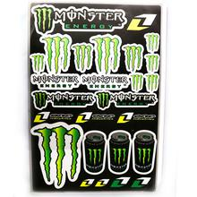 Decals (stickers) - Monsters (Type 4)