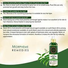 Morpheme Remedies Cold Pressed Organic Neem Oil, 200ml