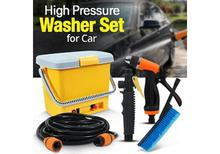 High Pressure AC + DC  Portable Car washer with Custom Made Adopter