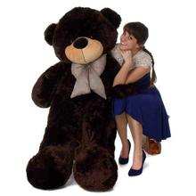 Dark Brown Teddy Bear Stuffed Toy (BL-0033) - Small