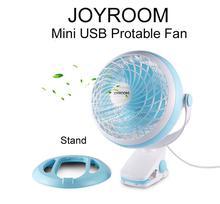 Joyroom Mini USB Desk Clip Electronic Multi-Function Fan