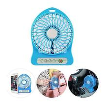 Rechargeable 3 Mode Portable Mini Fan USB Lithium Battery
