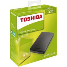 Toshiba External Hard Disk Drive- 2TB Portable Canvio