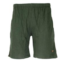 Assorted Green Stretchable Cotton Bermuda Shorts For Men - (BR929)
