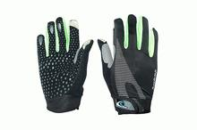 Touch Hand Gloves - Black/Green