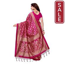 SALE -  ANNI DESIGNER Silk with Blouse Piece Saree