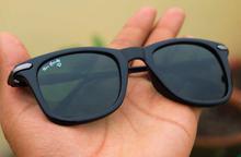 Tomhardy Side Rubber Wayfarer Black B2 Sunglasses - black