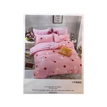 Cotton Printed Bedsheet With Pillow And Quilt Cover Set [bhsbg09]