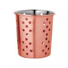 Navisha Jumbo Stainless Steel Utensil Holder (Color Assorted)
