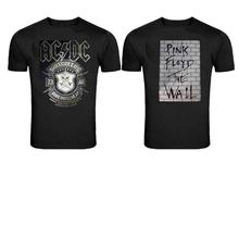 Printed T-Shirt For Men Printed T-shirt  Black Combo Of 2 Pcs
