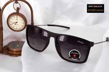 Polarized retro square sunglasses