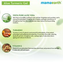 Mamaearth Aloe Turmeric Gel for Skin and Hair 300ml