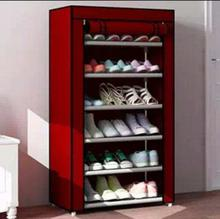 6 Layers Shoe Rack Portable and Folding (60*30*108 cms)
