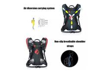 Waterproof Nylon MTB Outdoor Sports Cycling Backpack With Rain Cover-Red