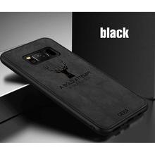 Soft Cloth Back Case Cover For Samsung Galaxy S7 Edge S9 S8 Note 9 8
