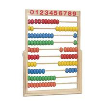 Multicolored Classic Wooden Educational Abacus Counting Toy