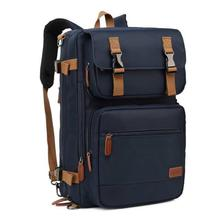 Coolbell 17.3 Inch Laptop Briefcase Backpack (Convertible Messenger Bag)