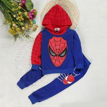Baby Boy Clothes Cotton Hooded Top+Pants 2 pcs Baby Boy Clothing Set