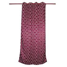 Curtains Buy 2 Get 2 Free [4pcs] [Ring Design] -Maroon