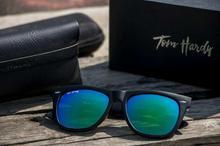 Tomhardy Wayfarer Unisex Sunglasses- Black