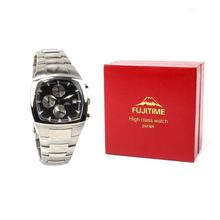 Fujitime M2912 Chronograph Black Dial Watch For Men