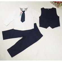2017 summer formal Children's clothing sets Boy's suit set party