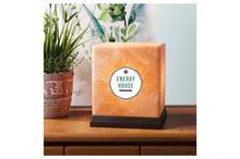 Himalayan Salt Lamp: Prosperity Cube