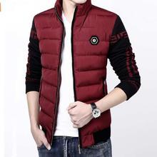 Trendy New Jacket for Men Solid Windproof Casual Winter Wear