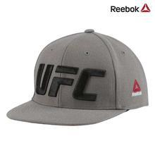 Reebok Grey UFC Flat Peak Cap (Unisex) - CZ9908