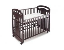 Wooden cot set brown BF 591A