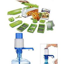 Pack Of 2 - Nicer & Dicer And Manual Drinking Water Pump