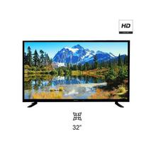 WEGA 32 Inch SMART DLED TV HI Sound Double Glass - (Black)