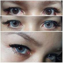 Fresh Look Powerless Contact Lens In Sterling Grey Color