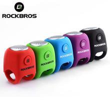 ROCKBROS 110db Electric Bike Horn Bicycle Alarm Bells Safety