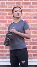 Yala Wears Grey Womens Tee