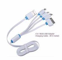 1M 4 in 1 USB Charger Cable