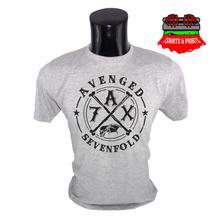 Avenged Sevenfold Grey T-Shirt for Men