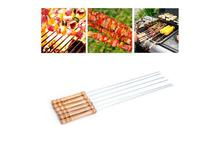 BBQ Stick Wooden Handle -Set Of 6