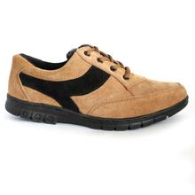 Brown/Black Lace Up Casual Shoes For Men